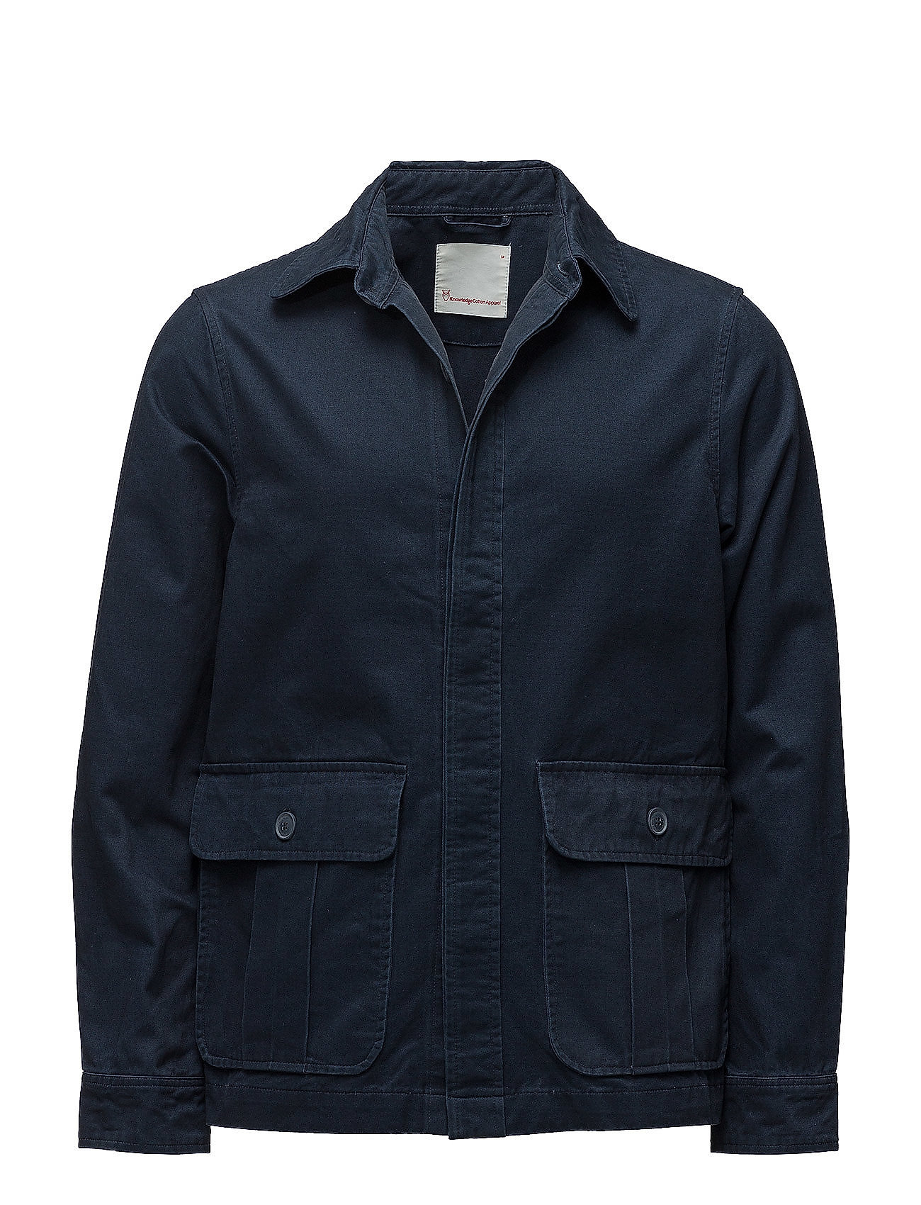 Knowledge Cotton Apparel Twill short jacket - TOTAL ECLIPSE