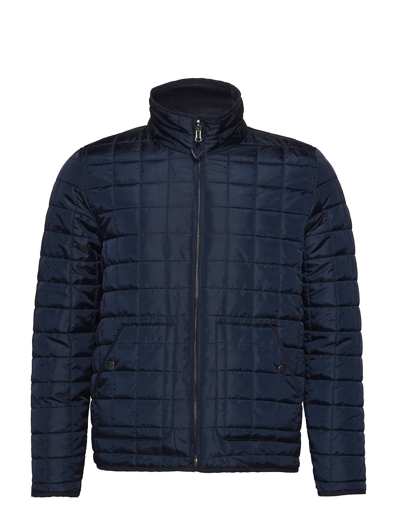 Knowledge Cotton Apparel Reversible quilted jacket - GRS/Veg - TOTAL ECLIPSE
