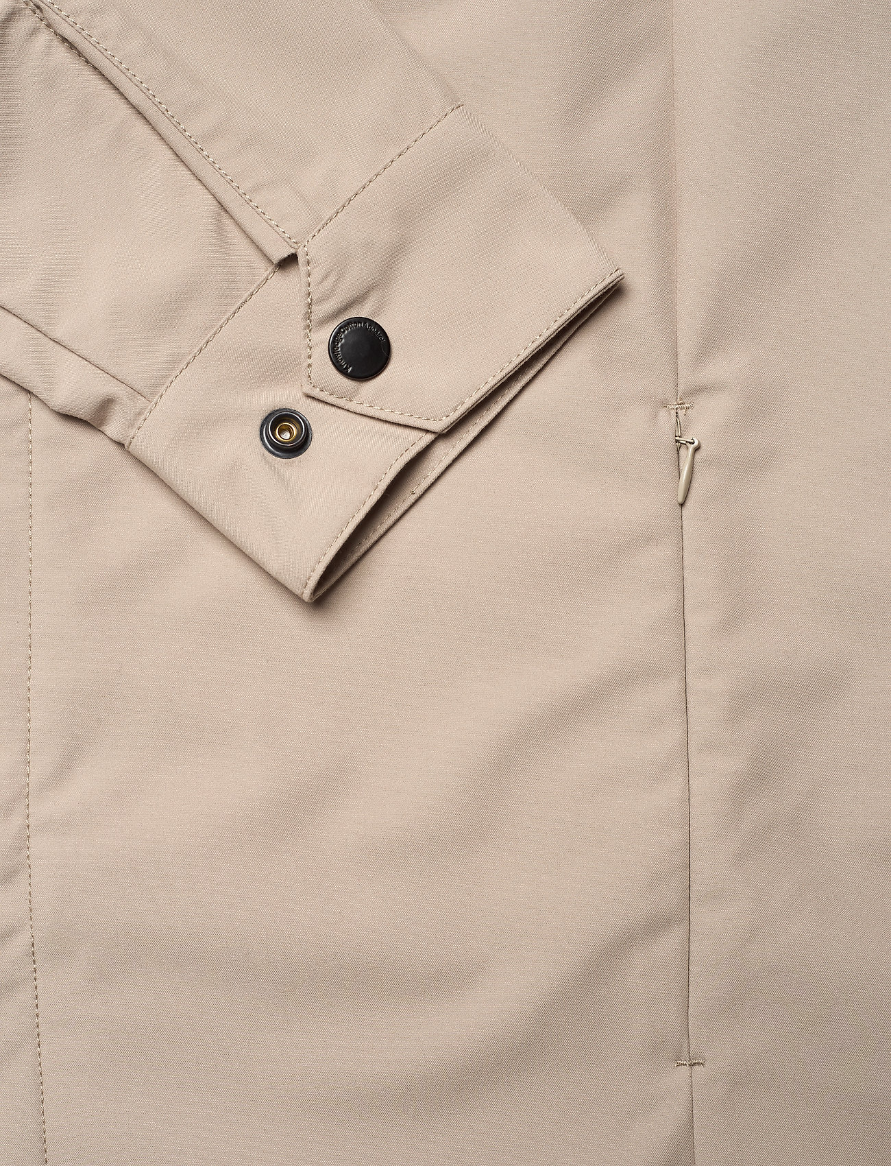 Knowledge Cotton Apparel - Urban Awareness long jacket - Vegan - manteaux legères - light feather gray - 3