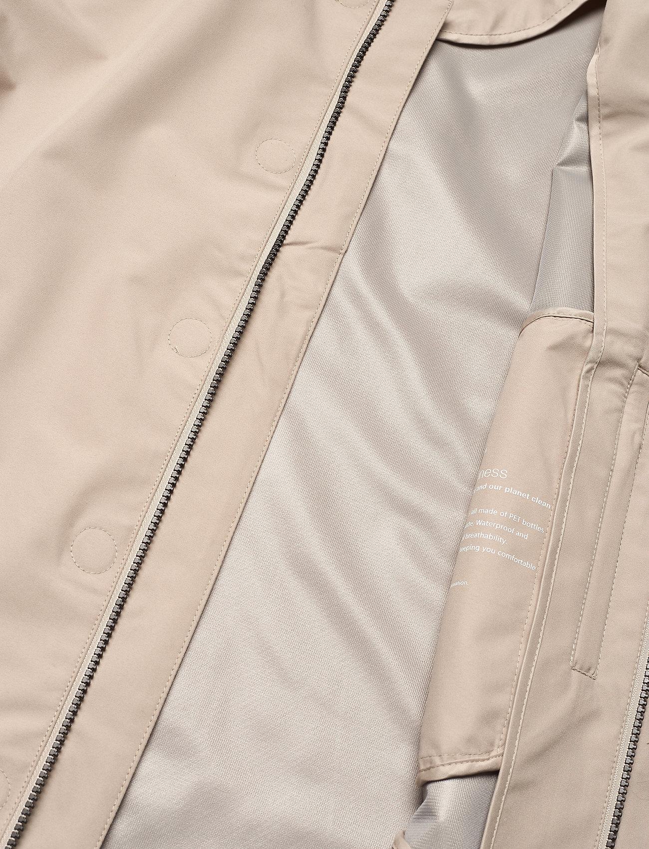 Knowledge Cotton Apparel - Urban Awareness long jacket - Vegan - manteaux legères - light feather gray - 4