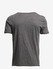 Knowledge Cotton Apparel - ALDER basic tee - GOTS/Vegan - kortærmede t-shirts - dark grey melange - 1