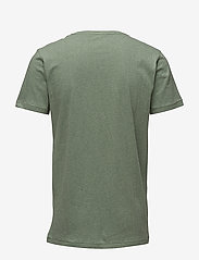 Knowledge Cotton Apparel - ALDER basic tee - GOTS/Vegan - kortärmade t-shirts - gren melange - 1