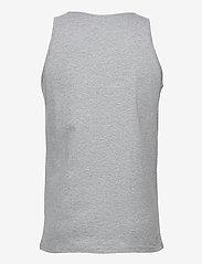 Knowledge Cotton Apparel - PALM owl chest tank top - GOTS/Vega - bez rękawa - grey melange - 1
