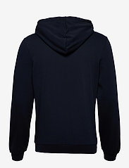 Knowledge Cotton Apparel - ELM knowledge transfer hood zip swe - basic sweatshirts - total eclipse - 1