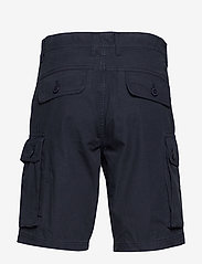 Knowledge Cotton Apparel - TREK durable rib-stop shorts - GOTS - cargo shorts - total eclipse - 1