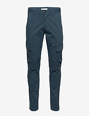 Knowledge Cotton Apparel - JOE trekking pant - GOTS/Vegan - bojówki - total eclipse - 0
