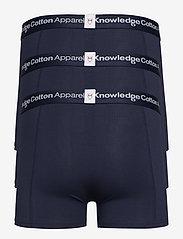 Knowledge Cotton Apparel - MAPLE 3-pack underwear - GOTS/Vegan - boxers - total eclipse - 1