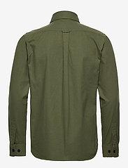 Knowledge Cotton Apparel - Long sleeve moleskin shirt - GOTS/V - podstawowe koszulki - green forest - 1