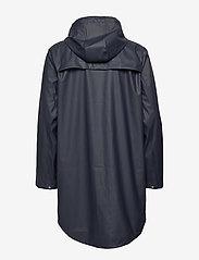 Knowledge Cotton Apparel - Long rain jacket /Vegan - sadetakit - total eclipse - 2