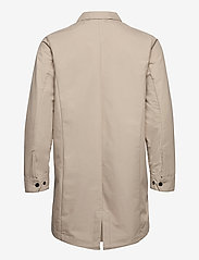 Knowledge Cotton Apparel - Urban Awareness long jacket - Vegan - manteaux legères - light feather gray - 1