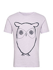 ALDER big owl tee - GOTS/Vegan