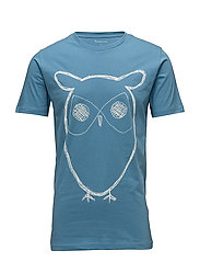 Single Jersey With Owl Print - GOTS - NIAGARA