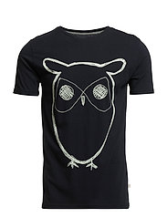 ALDER big owl tee - GOTS/Vegan - TOTAL ECLIPSE