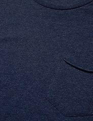 Knowledge Cotton Apparel - ALDER basic chest pocket tee - GOTS - basic t-krekli - insigna blue melange - 2