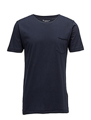 Basic Tee With Chest Pocket GOTS/Ve - TOTAL ECLIPSE