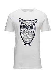 T-shirt with Diagram Owl print - GO - BRIGHT WHITE