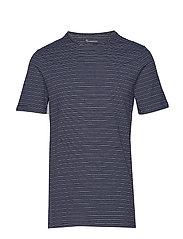 O-neck striped T-shirt - OCS - TOTAL ECLIPSE