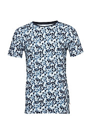 T-shirt Water based dot printed shi - BRIGHT WHITE