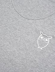 Knowledge Cotton Apparel - PALM owl chest tank top - GOTS/Vega - bez rękawa - grey melange - 2