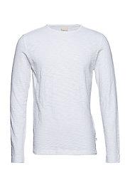 Cotton, slope sweat - GOTS - BRIGHT WHITE