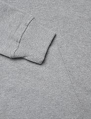 Knowledge Cotton Apparel - ELM small owl hoodie sweat - GOTS/V - basic sweatshirts - grey melange - 3