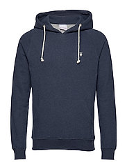 ELM small owl hoodie sweat - GOTS/V - INSIGNA BLUE MELANGE