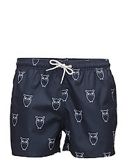 Swim Shorts W/ Owl Print - GRS - TOTAL ECLIPSE