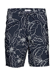 SEA flower swimshorts - TOTAL ECLIPSE