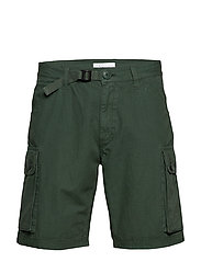 TREK durable rib-stop shorts - GOTS - PINENEEDLE