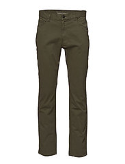 5-pocket stretched jeans - GOTS - BURNED OLIVE