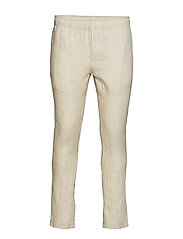 Loose pant fishbone - LIGHT FEATHER GRAY