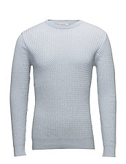 Cotton/Cashmere Cable Knit - GOTS - SKYWAY