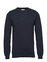 Crew neck knit - GOTS - TOTAL ECLIPSE