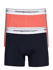 2 pack underwear - season - GOTS/Ve - SPICED CORAL