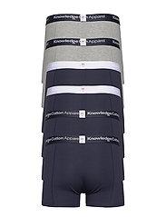 Knowledge Cotton Apparel - MAPLE 6-pack underwear - GOTS/Vegan - caleçon - total eclipse - 1