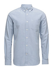 Button Down Oxford Shirt - GOTS/Veg - LIMOGES