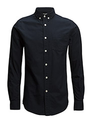 Button Down Oxford Shirt - GOTS - TOTAL ECLIPSE