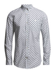 Printed Owl Shirt - BRIGHT WHITE