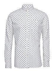 Printed Owl Shirt - BRIGHT WHITE