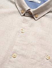 Melange Effect Flannel Shirt - GOTS