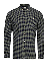 Small Checked Flannel Shirt - GOTS - SAGE (LIGHT USTY GREEN)