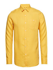 LARCH LS shirt - BANANA