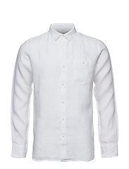 LARCH LS shirt - BRIGHT WHITE