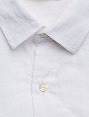 Fabric Dyed Linen Shirt/Vegan