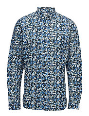 Poplin Shirt W/All Over Flower Prin - TURKISH SEE