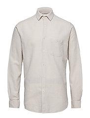 LARCH LS shirt - LIGHT FEATHER GRAY