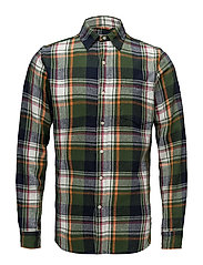 Checked flanel shirt - GOTS - BLACK FORREST