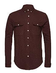 Slope jersey shirt - GOTS - DECADENT CHOKOLADE