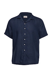 WAVE SS linen shirt - Vegan - TOTAL ECLIPSE