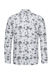 Shirt with palm print - FORREST NIGHT